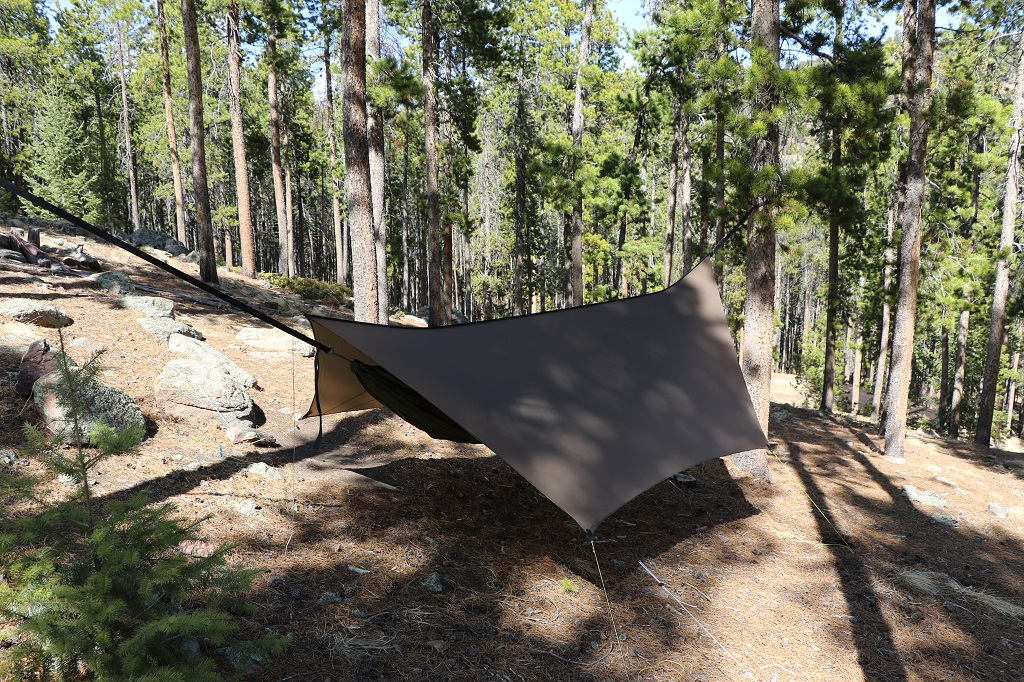 Brown Edge Tarp & Hammocking Tarps | Warbonnet Outdoors | Hammock Tarps