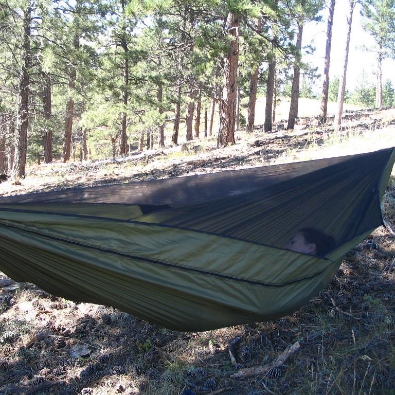 Single vs double layer hammock
