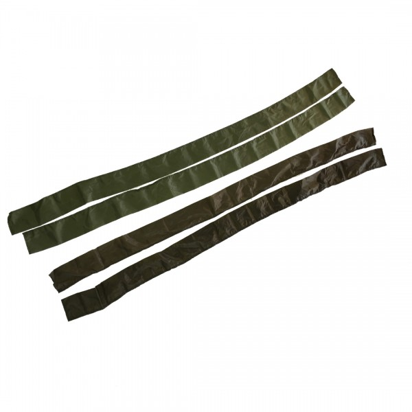 Green and brown tarp skins