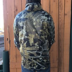 Bushwack Camo Wind Breaker backside