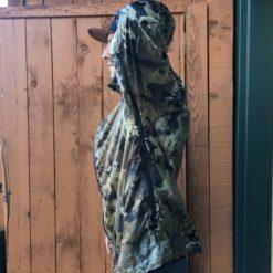 Bushwack Camo Wind Breaker pit zips