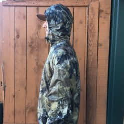 Bushwack Camo Wind Breaker side profile