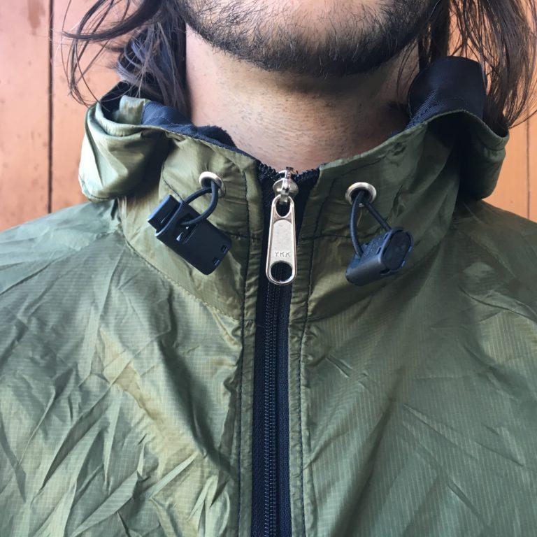 Stash jacket hood pulls with cordlock