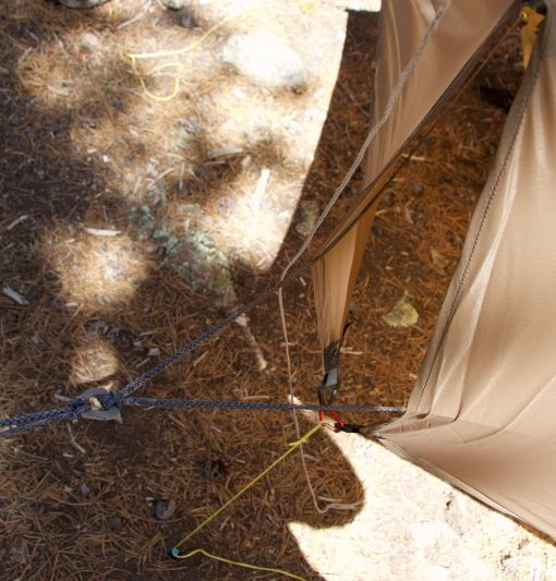 Ridgerunner dog bones with Thunderfly tarp