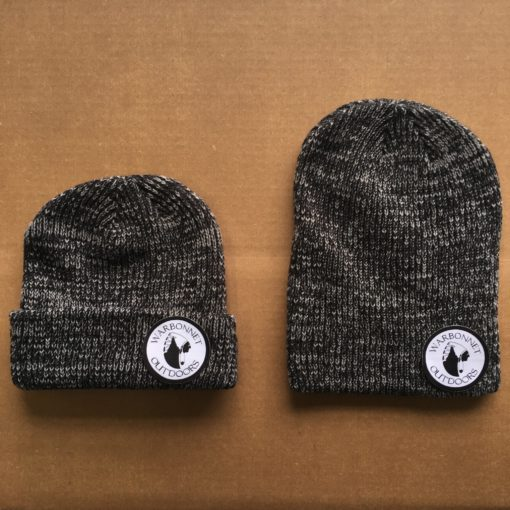 black warbonnet beanie with circle logo patch