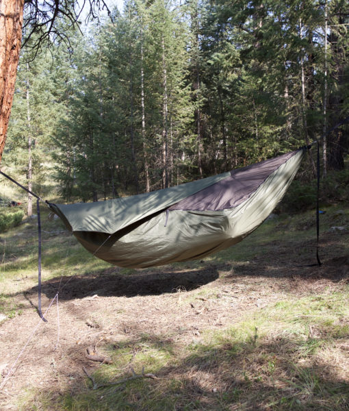 warbonnet underquilt protector for xlc zipped to winter topcover