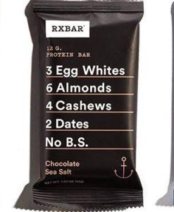 RX bars peanut butter chocolate sea salt blueberry